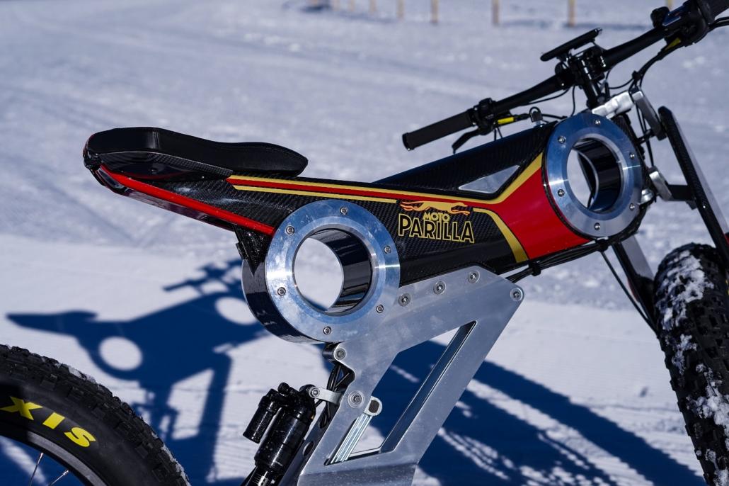 Moto Parilla Snow