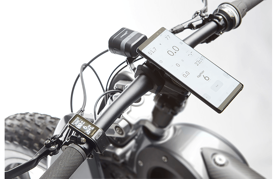 Display Custom Moto Parilla